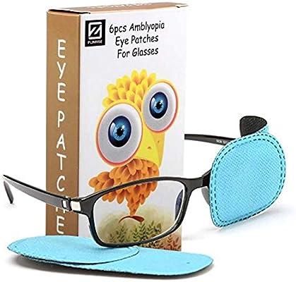 6 Pairs Kids Children Glasses Lazy Eye Patch Amblyopia Strabismus Eyeshade