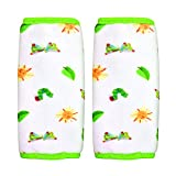 Eric Carle Reversible Strap Covers, Green/White