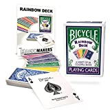 Magic Makers Rainbow Deck with Instructional Bonus Tricks