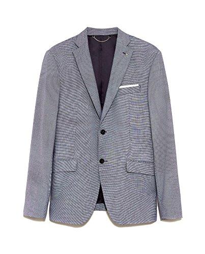 Zara Men Birdseye Suit Blazer 1564/420 (46 (Birdseye Sport Coat)