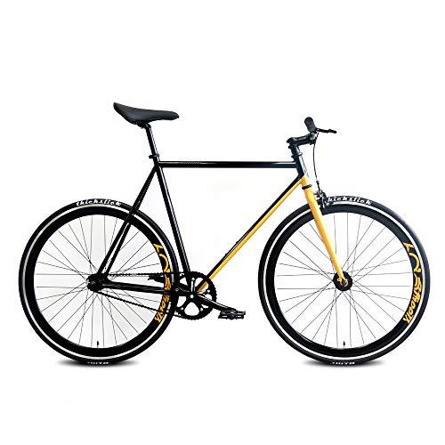 Daiquiri 700c Fixie Bike Urban Track Single Speed Road Bike Fixed Gear Commuter Bicycle D8 V