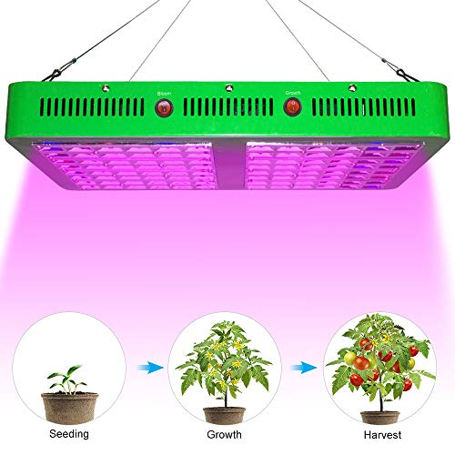 10% Off!ASIGN LED Grow Light 2000w Full Spectrum for Indoor Planting, 3 Modes Bloom Grow for Vegetable Flowers Fruit Planting Light for Hydroponics Greenhouse