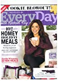 Every Day with Rachael Ray Magazine December 2011 Holiday Issue, Cookie Blowout, 102 Homey Hot Meals