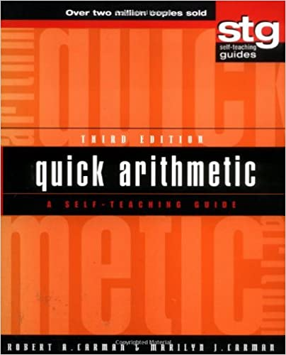 Quick Arithmetic: A Self-Teaching Guide (Wiley Self-Teaching ...