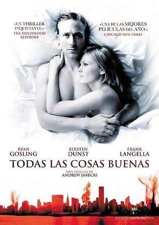 Todas Las Cosas Buenas (Import Movie) (European Format - Zone 2) (