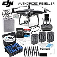 DJI Phantom 4 PRO Obsidian Edition Drone Quadcopter (Black) Premium Ultimate Bundle