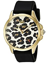 Juicy Couture Women's 1901342 Analog Display Quartz Black Watch