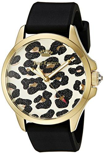 (Juicy Couture Women's 1901342 Analog Display Quartz Black Watch)
