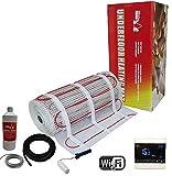 Nassboards Premium Pro Electric Underfloor Heating mat kit 200w per m2 - Red Box