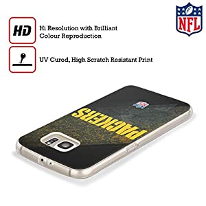 Official NFL Blur Green Bay Packers Logo Soft Gel Case for Samsung Galaxy S8 by Head Case Designs