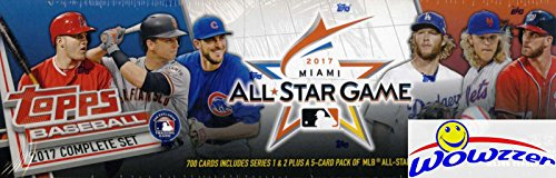 2017 Topps Baseball HUGE SPECIAL 705 Card Complete ALL STAR GAME Factory Set with AARON JUDGE ROOKIE & 5 EXCLUSIVE Cards! Rare Limited Edition Set! Every Card has All-Star Game (Topps Baseball Set)