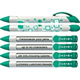Personalized Birth Announcement Pens- Baby Twins Rotating...