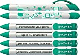 Baby Pen by Greeting Pen- Personalized Birth Announcement Pens- Baby Twins Rotating Message Pen 100 pack (P-BP-28-100)