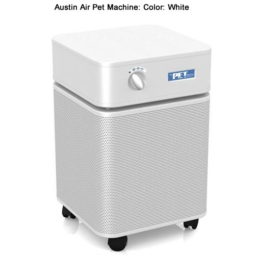 Pet Allergy Relief Air Purification System White
