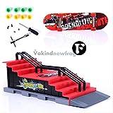 Skateboarding Skate Park Ramp Parts for Tech Deck Fingerboard Action Fingers F