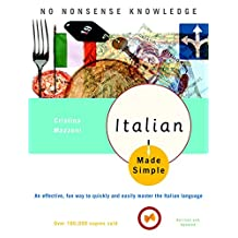 Italian Made Simple: Revised and Updated