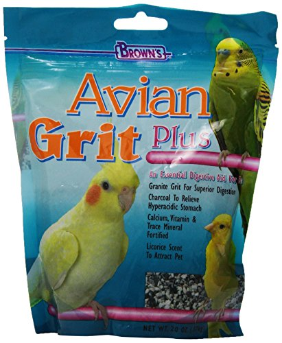 Brown's Avian Grit Plus with Licorice Scent, 20-Ounce ()