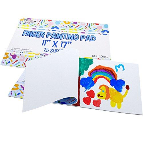 u finger painting paper pad