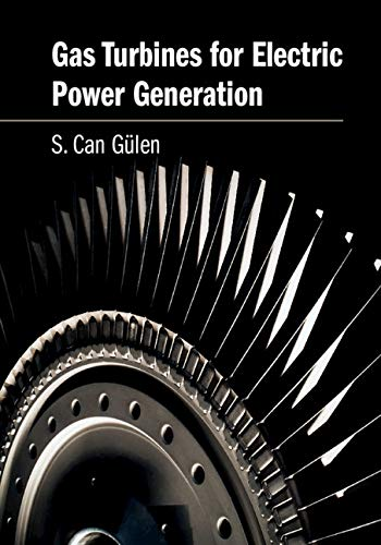 Gas Turbines For Electric Power Generation  English Edition