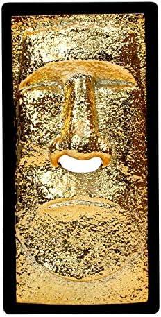 ロータリー ヒロ(Rotary hero) ティッシュケース モアイ メタリックゴールド 13×26cm RH-428