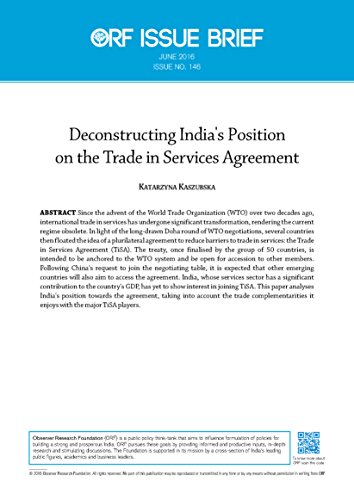 Deconstructing Indias Position On The Trade In Services Agreement