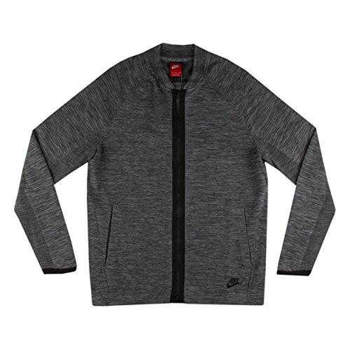 Nike Sportswear Tech Knit Grey Mens Bomber Jacket Size XL
