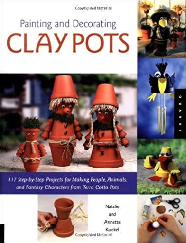 Buy Painting and Decorating Clay Pots at Amazon