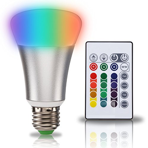 TORCHSTAR Dimmable Changing Multi color Wireless