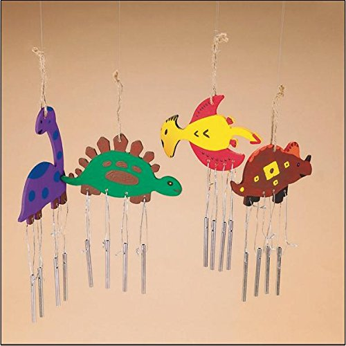 Dino Wind Chimes Craft Kit -