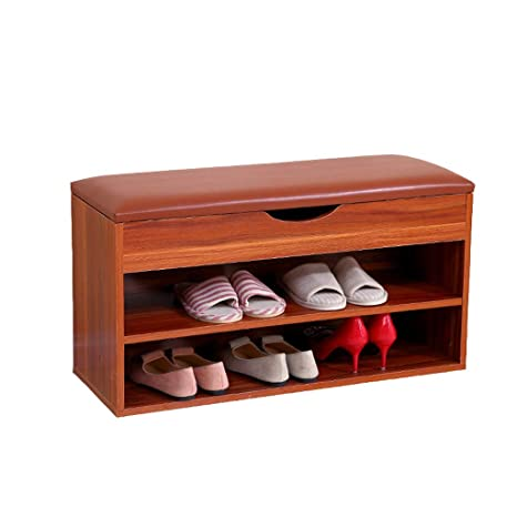Groovy Qqxx Wooden Shoe Cabinet 2 Tiers Shoe Rack Shoe Storage Andrewgaddart Wooden Chair Designs For Living Room Andrewgaddartcom