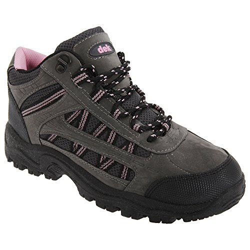 Trail Up Ladies Boots amp; Grey Womens Lace Dek Grassmere Pink Trek Ankle w18Tqxfa