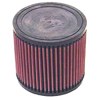 K&N Universal Clamp-On Air Filter: High Performance, Premium, Washable, Replacement Engine Filter: Flange Diameter: 2.75 In, Filter Height: 5 In, Flange Length: 0.625 In, Shape: Round, RU-0960: Automotive