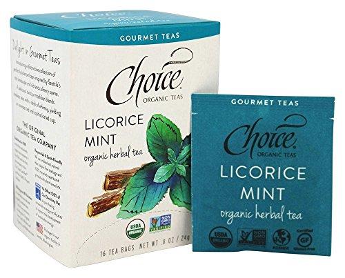 Choice Tea Licorice Mint product image