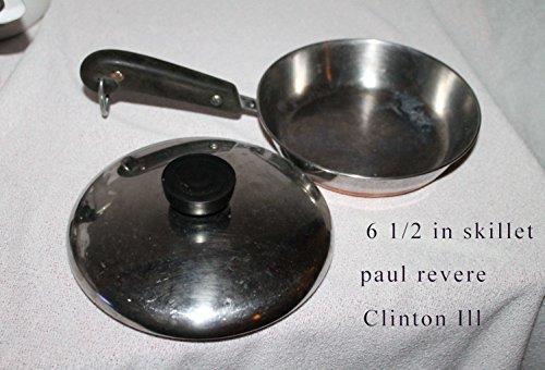 Vintage 1978 Revere Ware Copper Clad Saucepan 1 1/2 Qt. WITH -