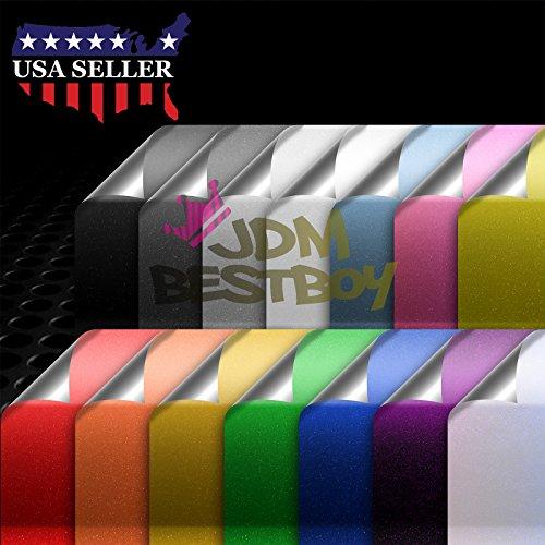 remium High Gloss Glitter Sparkle Metallic Car Vinyl Wrap Sticker Decal Film Sheet Bubble Free Air Release Technology - 4