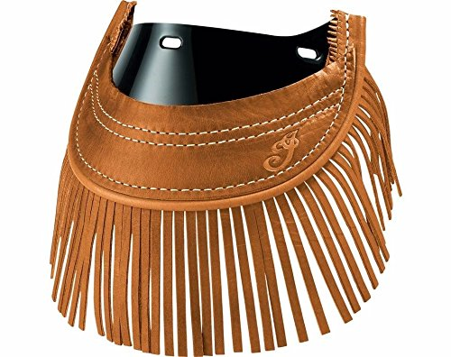 Fringe Flap (INDIAN CHIEF FRONT MUD FLAP WITH FRINGES DESERT TAN 2879583-05)