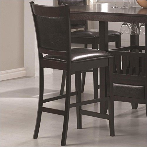 coaster jaden counter high stool set of 2