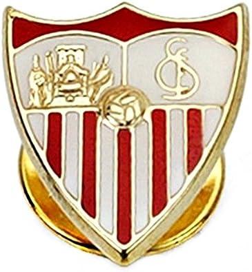 Pin escudo Sevilla FC oro de ley 18k 16mm. esmaltado [8541 ...
