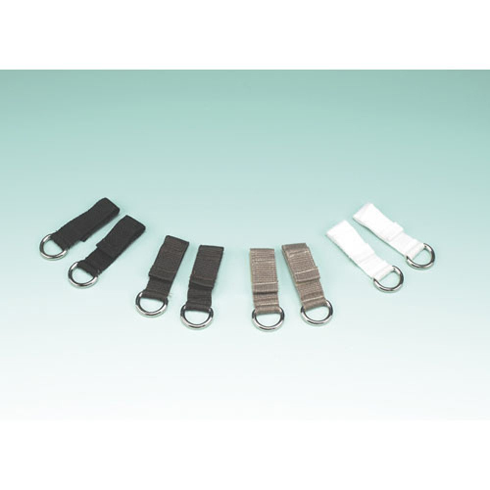 Maddak Wear Ease Black Shoe Fastener Kit (Bag of 2) (738170000) by SP Ableware