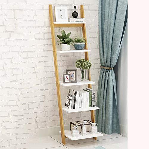 FTFTFTF Flower Stand, Shelf Living Room Floor Rack Bedroom Room Multi-Storey Bookshelf Storage Trapezoid,1,4235154cm