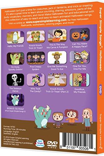 amazoncom super simple songs halloween dvd movies tv