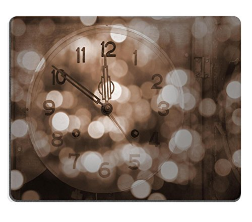 Liili Mouse Pad Natural Rubber Mousepad IMAGE ID 32991054 New year and merry christmas background Vintage style
