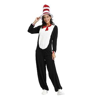 QINZIXIA EU Disfraz de Halloween masculino y femenino pareja ...