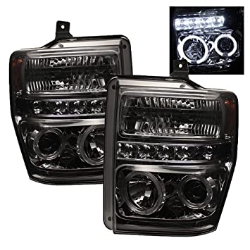 Spyder Auto PRO-YD-FS08-HL-BSM Ford LED Halo Projector Headlight