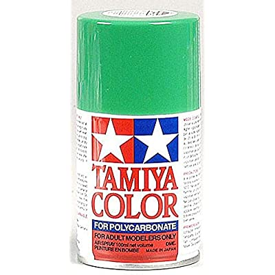 Tamiya America, Inc Polycarbonate PS-25 Bright Green, Spray 100ml, TAM86025: Toys & Games