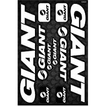 Giant Bicycle Frame Decals Stickers Graphic Set Vinyl Adesivi (Model A)