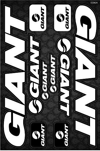 Giant Bicycle Frame Decals Stickers Graphic Set Vinyl Adesivi (Model - Kona Frame Shop