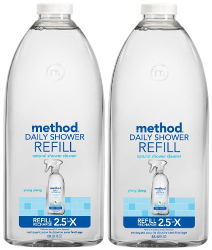 Shower Cleaner Method Daily (Method Daily Shower Refill - Ylang Ylang - 68 oz - 2 pk)