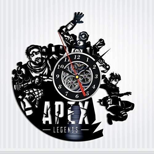 Apex Legends Video Game Gifts Vinyl Record Wall Clock Original Handmade Gift for gamer