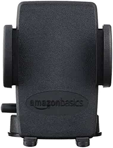 AmazonBasics Universal Windshield and Dash Mount for Smartphones, GPS, and Tablets